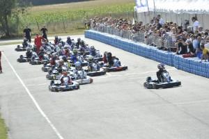 Départ 24h du circuit de l'Europe 2012